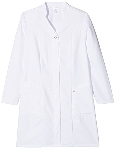 NeoLab 4-1579 werkmantel voor dames, getailleerd, 100 procent CO, maat 44, wit