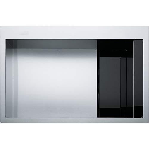 Franke crystal line - Fregadero 210 clv-210 80cm negro