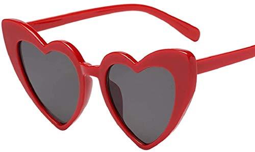 MaoDaAiMaoYi Hippy Brille Herz Geformt Sonnenbrille For Mode Living Hippie Verrücktes Kleid Zubehörteil (Color : D, Size : Size)