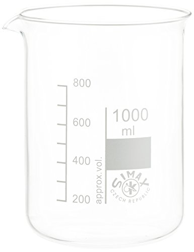 neoLab E-1042 Bechergläser, niedrige Form, 1000 mL (10-er Pack)