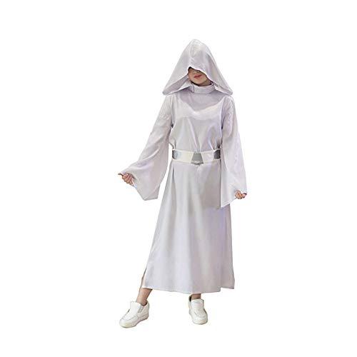 KYOKIM Disfraz de Princesa Leia de Star Wars para Adultos, Set de ...