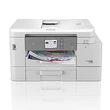 Brother MFC-J4535DW INKvestment Tank All-in-One Color Inkjet Printer with NFC, Duplex and Wireless Printing Plus Up to 1…