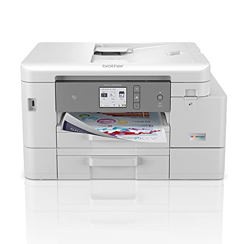 Brother MFC-J4535DW INKvestment Tank All-in-One Color Inkjet Printer with NFC, Duplex and Wireless Printing Plus Up to 1-Year of Ink in-Box