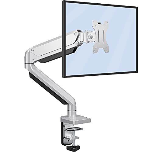 """ErGear Soporte para Monitor LCD/LED 13 """"-32"""" Pulgadas Resorte de Gas Ajustable Tecnología Diseño Ergonómico Soporte Monitor Elevador Altura Ajustable Giro de 360° Rotación de 180° VESA 75x75/100x100mm"""