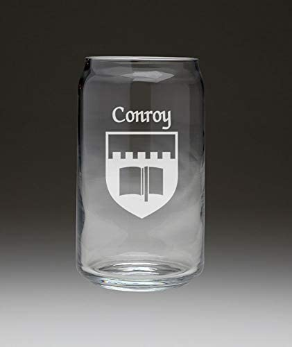 Conroy Irish National products Coat of Arms Beer Glass Set - Can Portland Mall 4