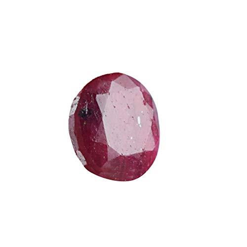 1 Stück Roter Rubin 30,50 Ct Natürlicher Rubin, Egl zertifiziert Oval Cut Roter Rubin Lose Edelstein Für Schmuck