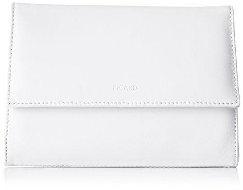 Picard Damen AUGURI Clutches, Weiß (weiss), 19x13x3 cm