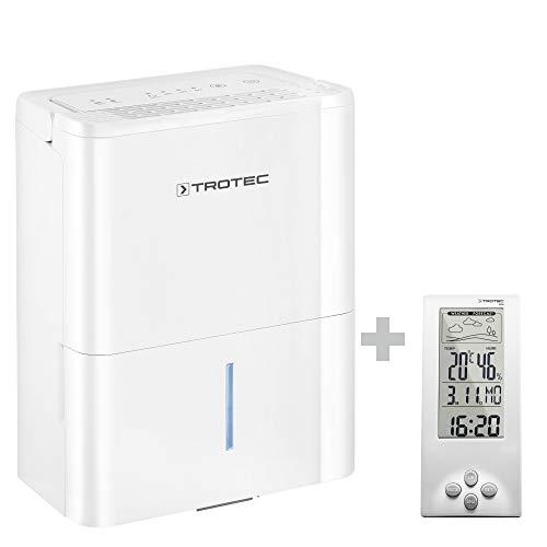 TROTEC Luftentfeuchter TTK 32 E Geeignet für Flächen bis 15m² bzw. 37m³ Entfeuchtungsleistung 12L/Tag ink. BZ06