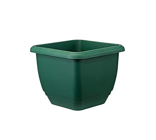 Stewart plastiche - Planter (Quadrato, 40 cm), Verde