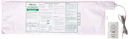 Smart Caregiver RP-BBR1-SYS Retail Package-Basic Monitor with Basic Pressure Pad, White