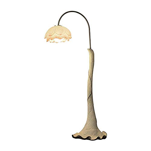 SXRKRZLB Kreative Chinese Stehlampe Wohnzimmer Schlafzimmer Arbeitszimmer Dekoration Nachttischlampe künstlerische Persönlichkeit vertikal warm Bodentischlampe