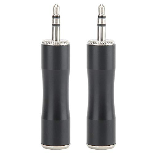 2 STUKS 3.5mm Audio Adapter Male naar Vergulde Mini XLR 3pin Male Balanced Audio Adapter Connector voor digitale camera's, SLR camera's, audio microfoon apparatuur