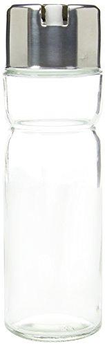 Genware NEV-KC100 azijn- / olie-fles, 2 bijpassende opzetstukken