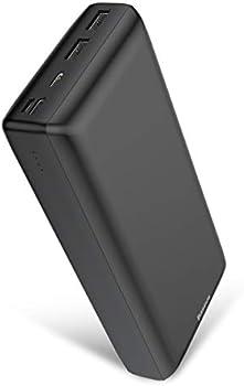 Baseus 30000mAh Portable Power Bank with 3 USB Charging Ports