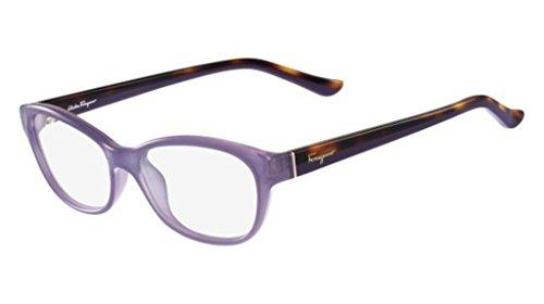Ferragamo SF2722 Cateye Brillengestelle 53, Violett