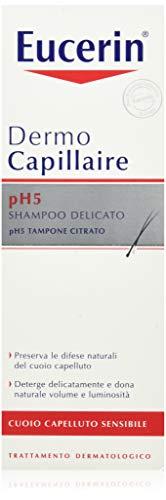 Set mit 6 Paraf.Eucerin Shampoo Sanft P.SENS.250 ml Haarprodukte