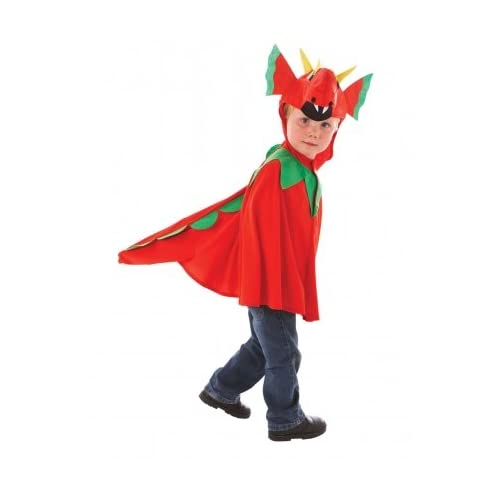 5bc4d99d2 Childrens Friendly Dragon Fancy Dress Costume Kids Wales Welsh Mascot  Outfit Age 5-6