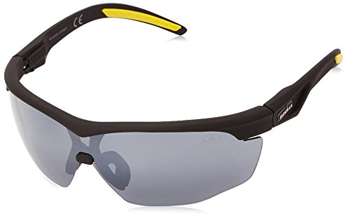 Ironman Tenacity 10231895 – anteojos de sol envolventes para hombre, Goma negra mate., 136 mm