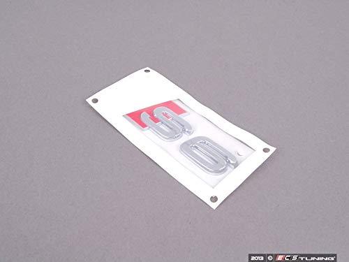 Schriftzug S6 Original Audi A6 Tuning Emblem Heckklappe Typzeichen Chrom