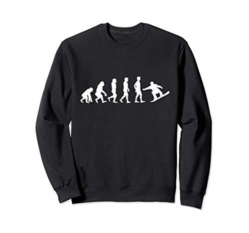 Evolution Snowboard | Snowboarding, Ski, Urlaub | Geschenk Sweatshirt