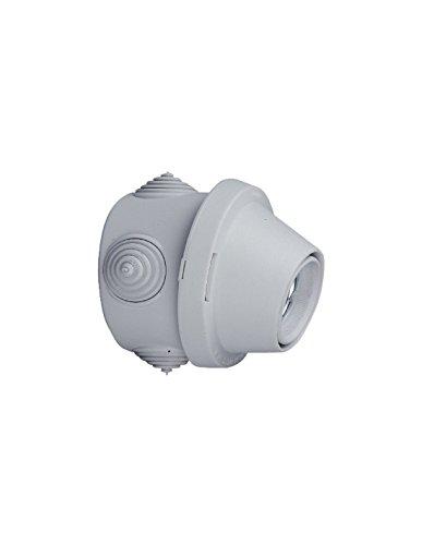 Legrand 091146 Douille Étanche pour Applique pour Ampoule E27, Gris