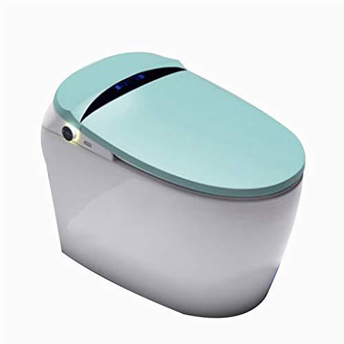 YRRA Elektronische Toilette, EIN Stück Advanced Smart Seat Mit Temperaturgesteuerter Waschfunktionen Und Lufttrockner Einfach Zu Leeren Und Zu Reinigen,Grün,680 * 410 * 510mm