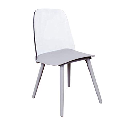 ch-AIR Net Red Nordic Transparent Dining Chair Designer Bar Coffee Shop Dressing Chair Ins Acryl Crystal Crystal Ghost Chair,3
