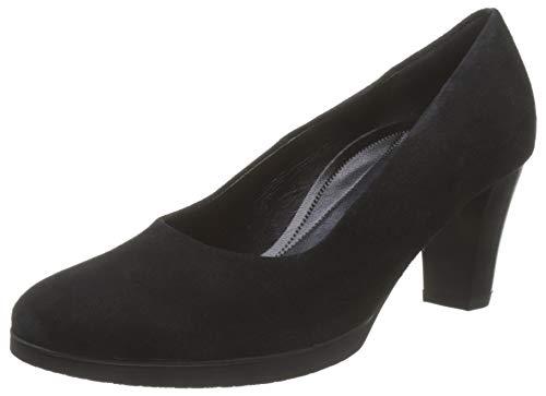 Gabor Shoes Damen Comfort Fashion Pumps, Schwarz (Schwarz 47), 36 EU