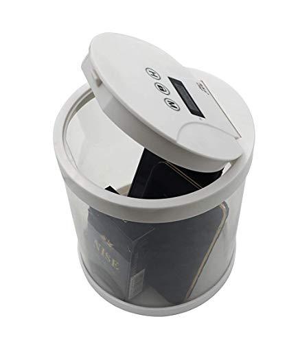 Caja de almacenamiento multiusos con cerradura temporizada para cocina y hucha para prevenir y controlar la adicción al teléfono móvil, prevenir el exceso de tabaco (1517)