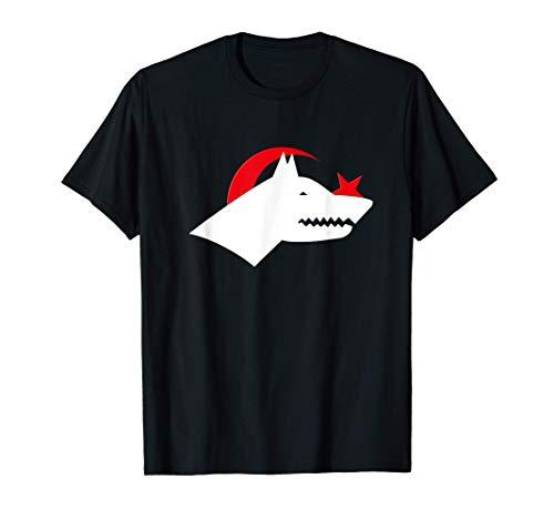Göktürkler - Göktürk, Bozkurt Türkiye Azerbaijan Türkei T-Shirt