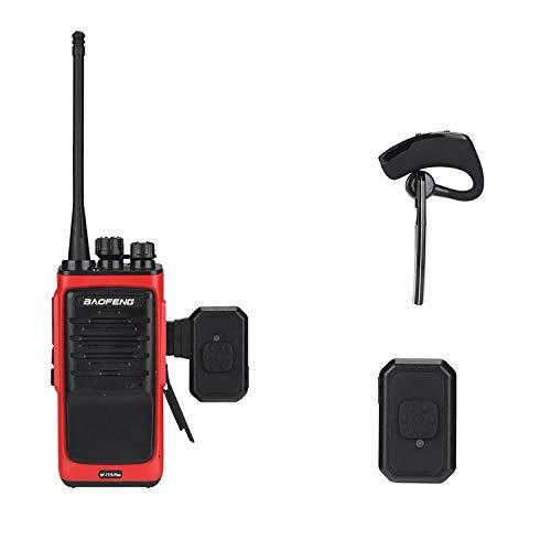 Bluetooth Earphones For Walkie Talkie Hands Free Bluetooth Headset Wireless Headphone For Baofeng Kenwood K Type Radio Walkie Talkie Wireless Bluetooth Earpiece Wantitall