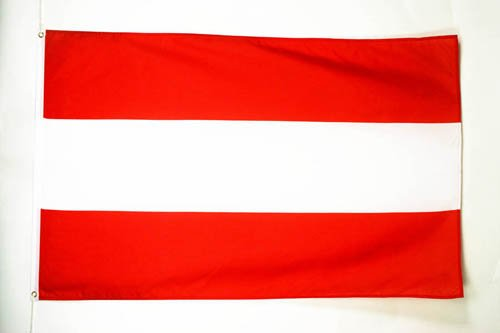 AZ FLAG Flagge ÖSTERREICH 150x90cm - ÖSTERREICHISCHE Fahne 90 x 150 cm - flaggen Top Qualität