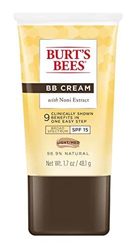 Burt's Bees BB Cream with SPF 15, Light / Medium, 1.7 Oz (Package May Vary)
