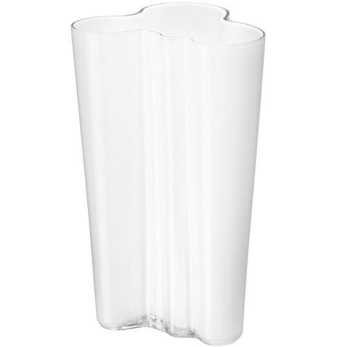 Iittala Alvar Aalto Collection Finlandia Vase 9.75 White by Iittala