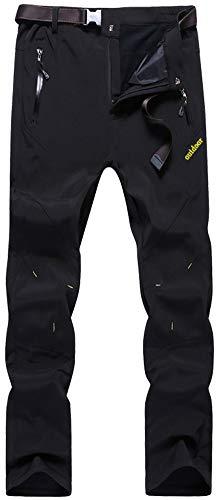 TACVASEN Sports Trousers for Men Waterproof Fleece Army Combat Pants...