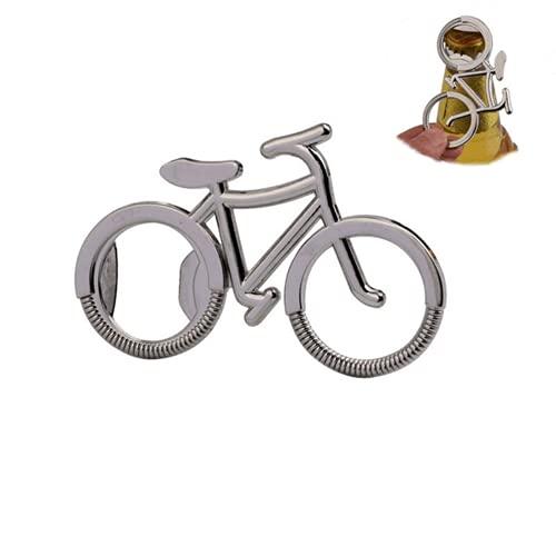 Creativo metallo portachiavi apribottiglie 2 pezzi-creativo metallo sport bicicletta portachiavi auto portachiavi accessori