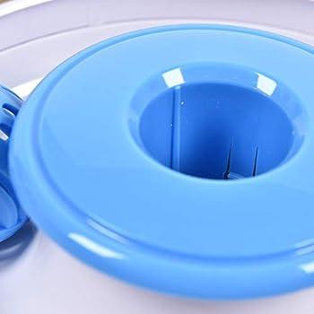 Vealind Jouet Interactif D'intérieur pour Chat avec Plumes Rotatives à 360° et Boule de Clochette (Jouet)