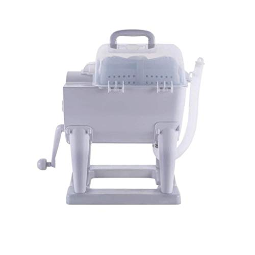 Kunze Portable Washing Machine, Non-Electric Manual Hand Washer and Dryer Combination Compact Design, Suitable for Apartments, Hotels, Dorms, Camping Dorms