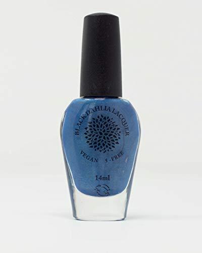Beach Hydrangea   Cornflower Blue Holo Nail Polish   by Black Dahlia Lacquer   Vegan & 5 Free