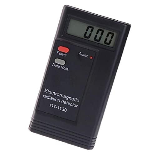 Detector de radiación electromagnética DT1130 Dosímetro, Equipo de alarma audible del probador (sin batería) Almacenamiento preciso