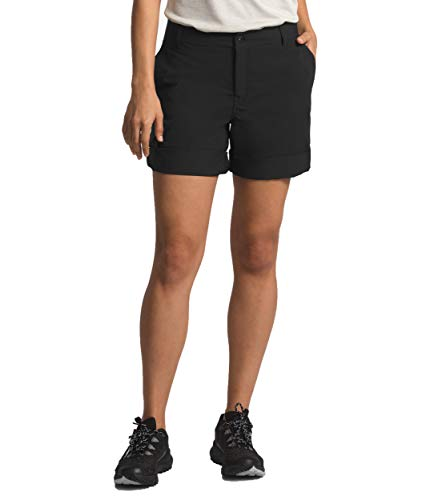 The North Face Women's Wandur Hike Short, TNF Black, Size 10