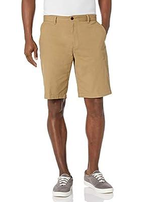 Dockers Men's Classic-Fit Perfect-Short - 36W - New British Khaki (Cotton)