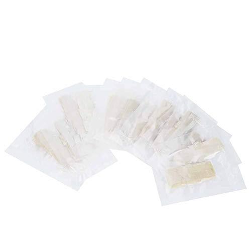 Zerodis Natürliche Wursthüllen, 20 Stück hausgemachte essbare trocknende Wursthülle für Wursthersteller Küchenzubehör, Einzelverpackung (30 mm)