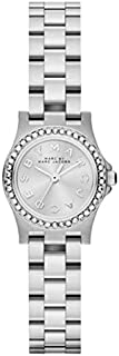 Marc by Marc Jacobs Women's Silver Dial Stainless Steel Band Watch - MBM3276