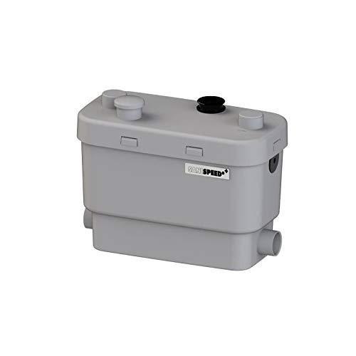 SFA 0026P Hebeanlage SANISPEED + - Durchsatz > 6000 L/h, Max. Förderdistanz vertikal x horizontal 7 x 70 m, weiß