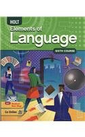 Elements of Language: Student Edition Grade 12 2009