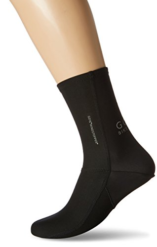 GORE BIKE WEAR, Calcetines de ciclismo, GORE WINDSTOPPER, UNIVERSAL Partial Socks, Talla 41-42, Negro, FWSUNI