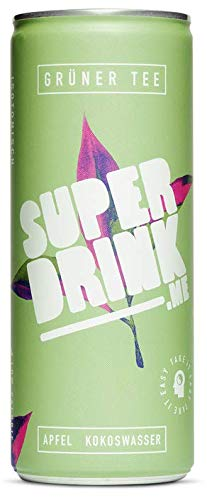 SUPERDRINK - TAKE IT EASY - Grüner Tee - 24er Palette, EINWEG (24 x 250 ml)