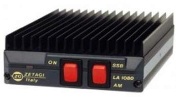 Zetagi - Amplificatore di Potenza LA-1080V, 100 Watt, 140-170 MHz, Banda 2 m