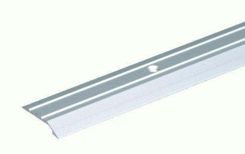 GAH-Alberts 490584 Ausgleichsprofil - gebohrt, Aluminium, edelstahlfarbig eloxiert, 900 x 39 mm